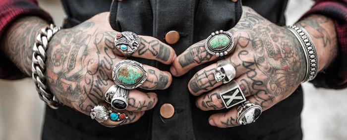 Männer hand tattoo vorlagen 42 Totenkopf