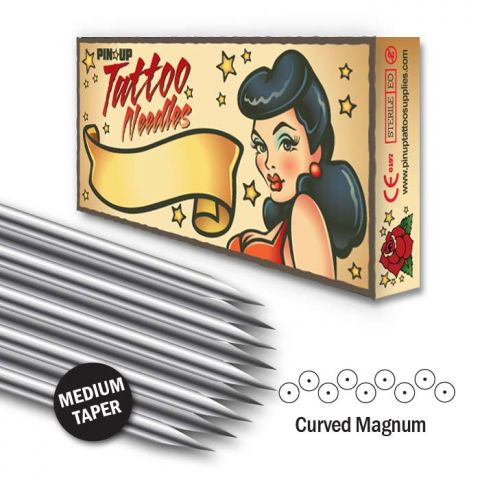 Curved Magnum Needle - Medium Taper