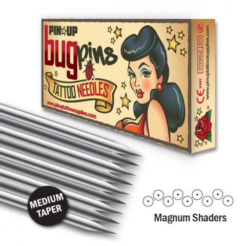 Bugpin Magnum Shader Nadeln - Medium Taper