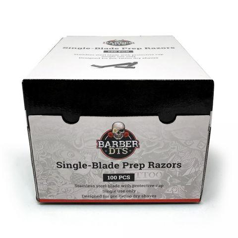 Barber DTS Einweg-Rasierer (100 Stück)