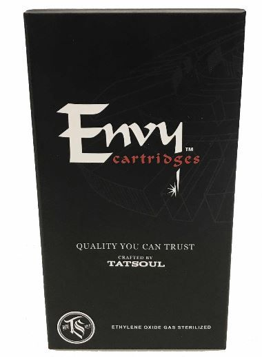 Envy Cartridges Bugpin Curved Magnum