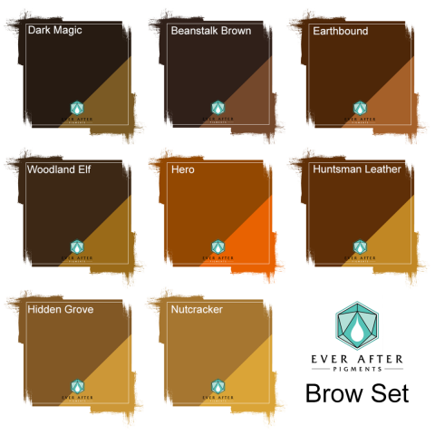 Ever After Pigments - Brow Set (Augenbraune-Set)