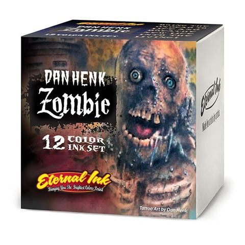 Eternal Ink 1oz/30ml Zombie Set (12) - KURZE HALTBARKEIT