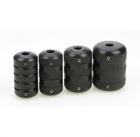Black Widow Acetol Griff 30mm geriffelt