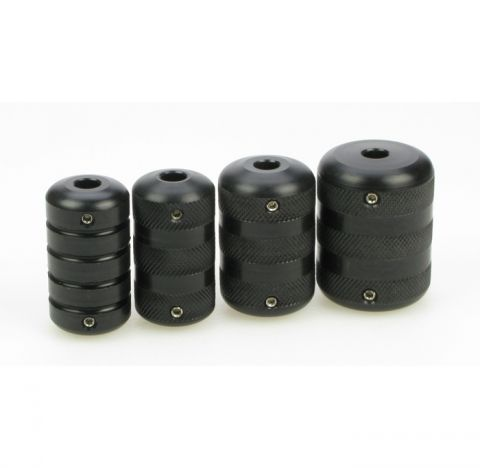 Black Widow Acetol Griff 25mm geriffelt