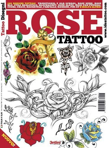 Rose Tattoo Flash Book