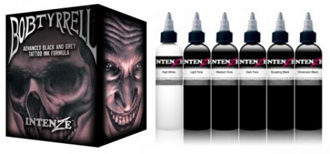 Intenze Ink Sets - Bob Tyrrell Set x 6 Inks - 1oz (30ml)