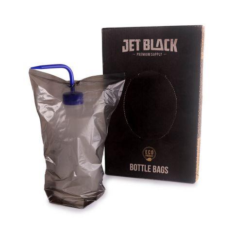 Jet Black - Flaschenschutzbeutel - 152x254mm (200 Stück)