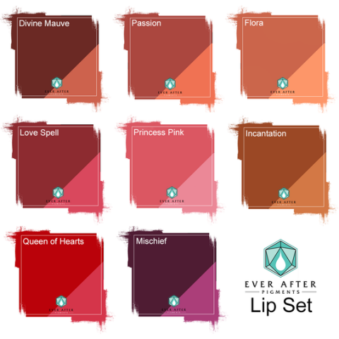 Ever After Pigments - Lip Set (Lippenset)