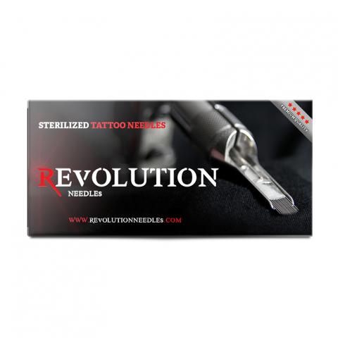 Revolution Runde Shader Long Taper 0,35 Poliert