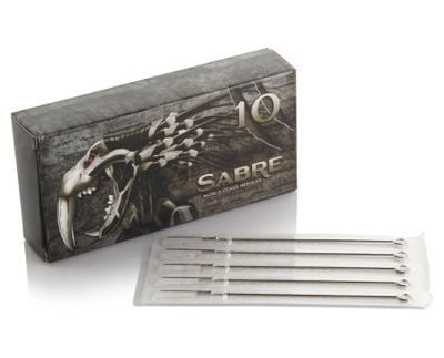 Sabre Needles - Round Liners (Box of 50)