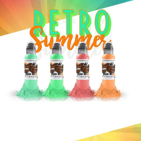 Gorksy Retro Summer Set - 1oz - World Famous Inks
