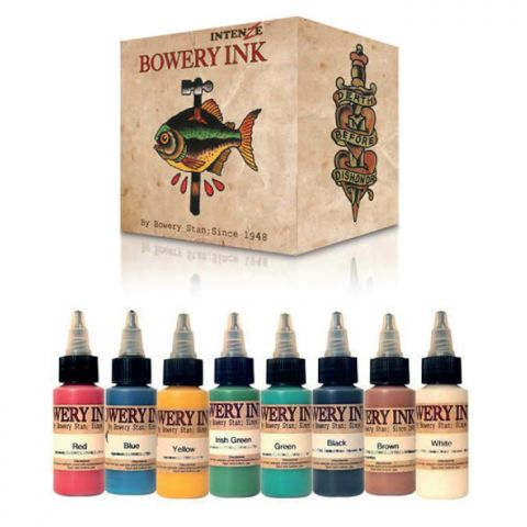 Intenze Ink Sets - Bowery Ink Set x 8 Inks