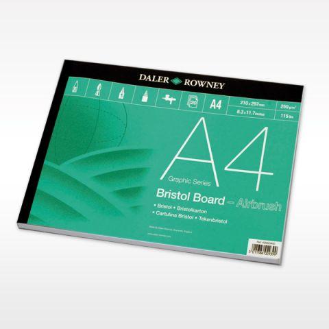 Bristol Board Pad A4 20 sheets 250gsm