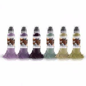 Maks Kornevs Zombie 6 Bottle Set World Famous Ink - 1oz