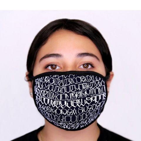Big Sleeps Face Mask - Black