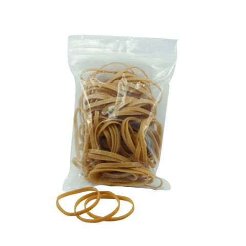 Rubber Bands Brown 100 pieces