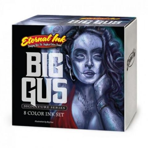 Eternal Ink 1oz/30ml Big Gus Set (8) - SHORT DATE