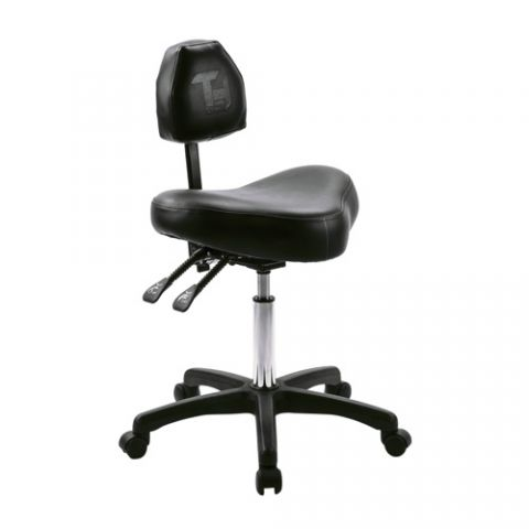 Tat Tech - Black Tone Artist Stool