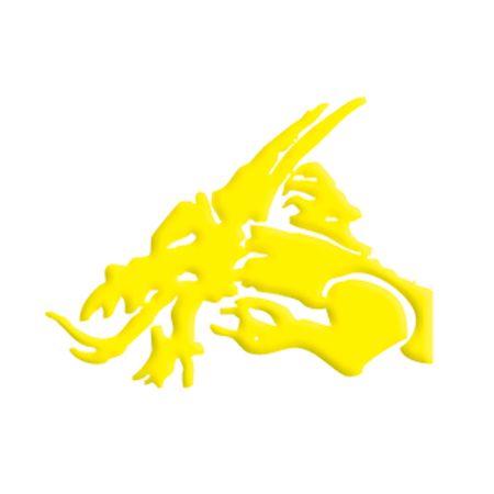 Kuro Sumi - Koi Yellow
