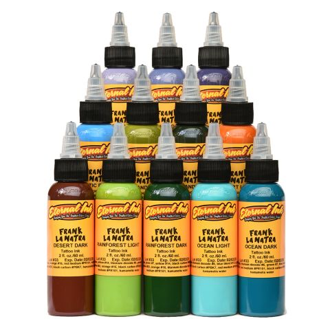 Eternal Ink Frank La Natra Set - 1oz (30ml) 12 Bottles