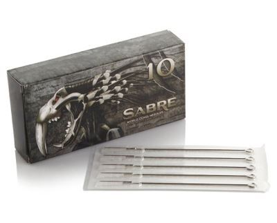 Sabre Needles - Round Shaders (Box of 50)
