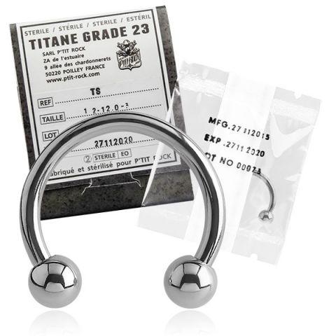 Titanium Micro Circular Barbell Sterile