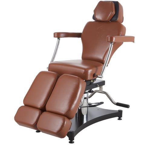 TATSoul 680 Oros Tattoo Client Chair - Tobacco
