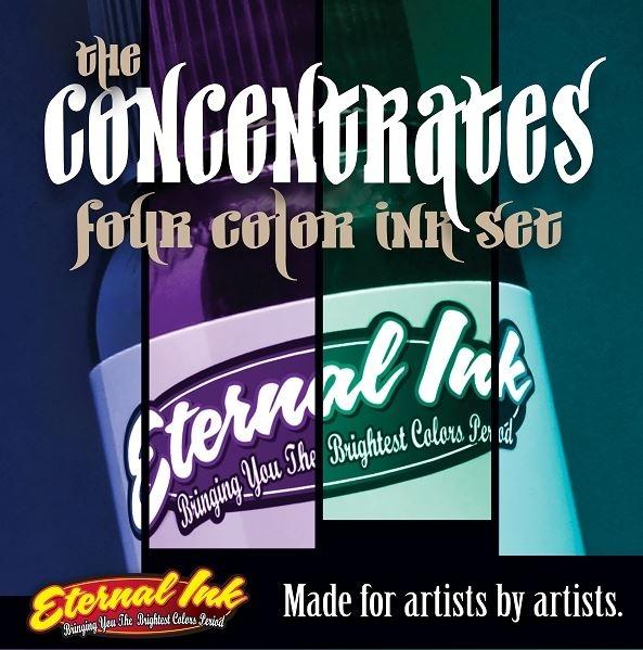 Four Colour Concentrate Set