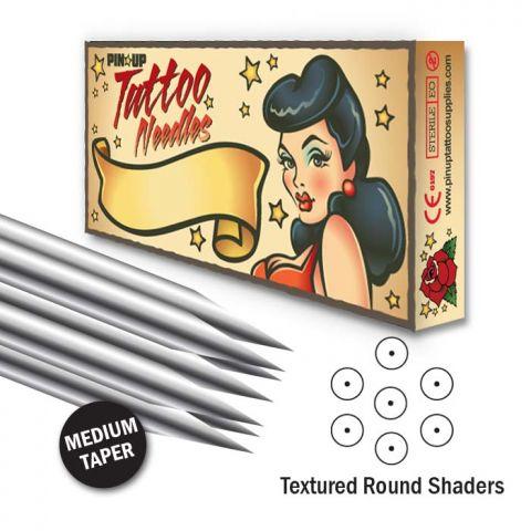 Texturada Redonda de sombra - Medium Taper