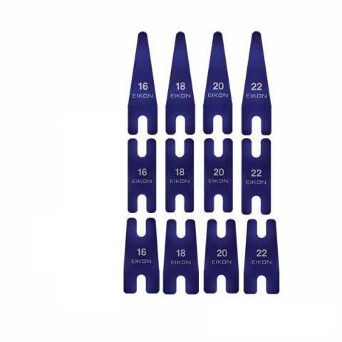 Flejes convencionales EIKON - Azul
