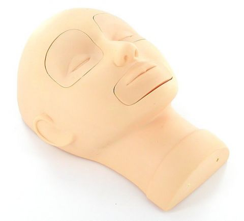 Mannequinn Head w/ Eye/Lip