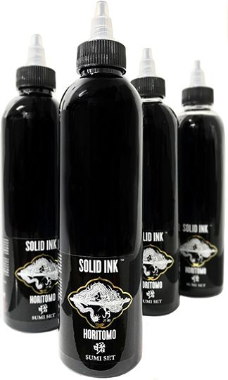 Solid Ink 4oz Horitomo Sumi Set (4)