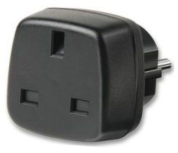 UK to Euro Plug Adaptor