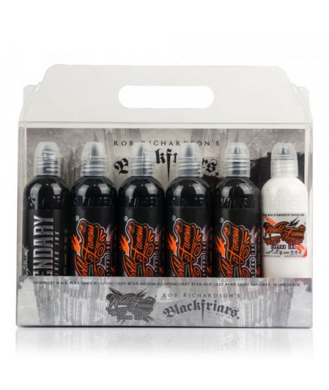 Rob Richardson 6 Bottle Set World Famous Ink - 4oz