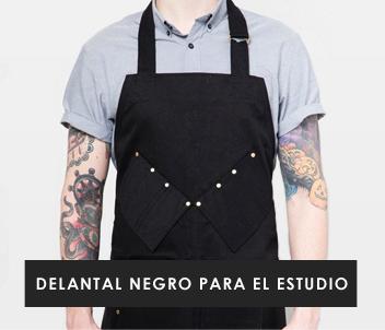 Tattoo Studio Apron - Black