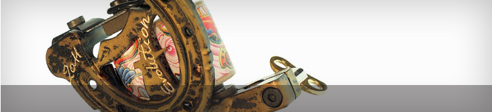 Coiled Tattoo Machines