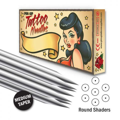 Round Shader Needle - Medium Taper