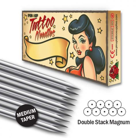 Double Stack Magnum Needle - Medium Taper