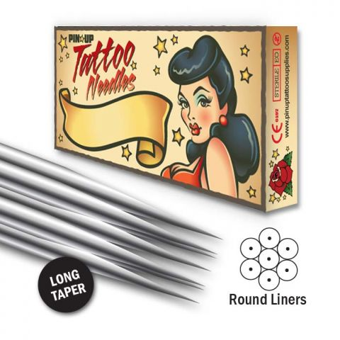 Needle Round Liner - Long Taper