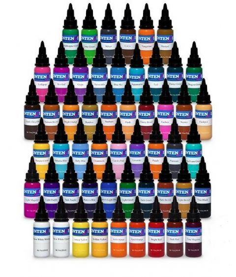 Intenze Ink Set includes
