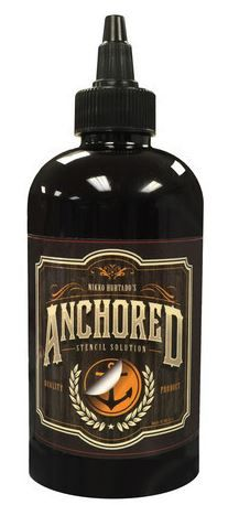 Anchored Stencil Solution - 8oz Bottle