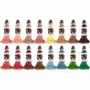 Oleg Shepelenko 16 Bottle Set World Famous Ink - 1oz