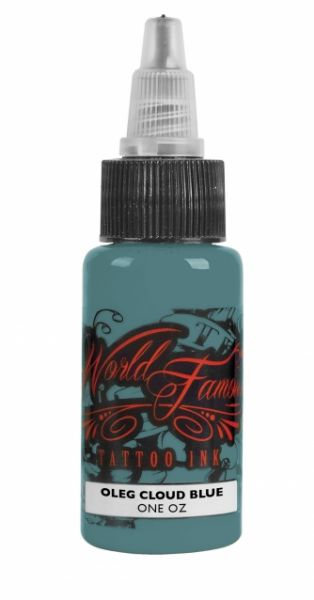 World Famous Ink 1oz - Oleg Cloud Blue