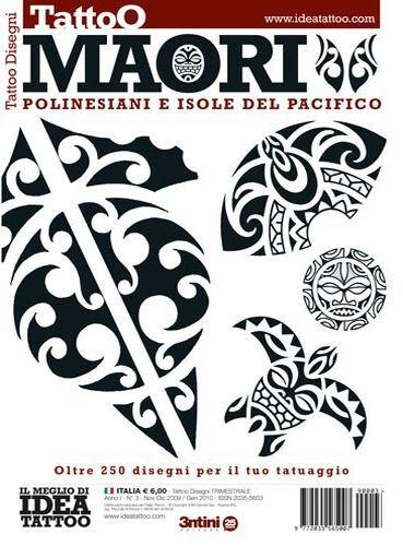 Maori Tattoo Flash Book