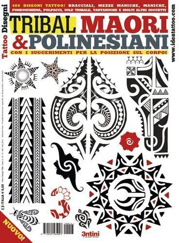 Polynesian and Maori Tattoo Flash Book