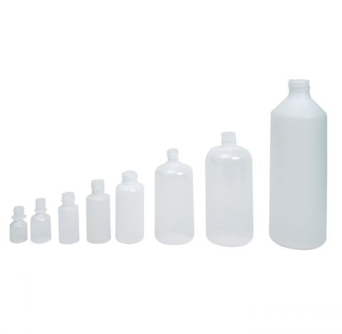 Plastic Squeeze Bottles-10ml (order cap and plug separately)