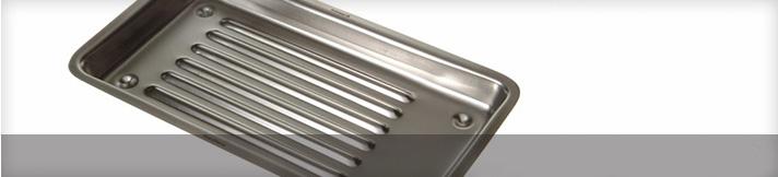 Plateaux pour instruments en acier