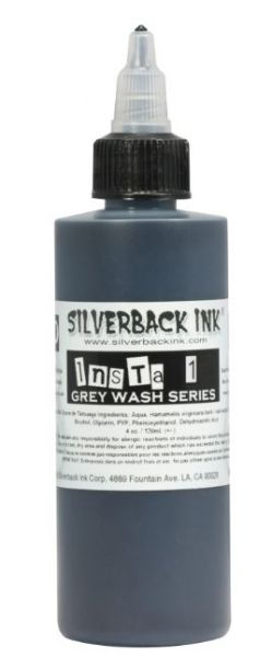 Insta 1 Grey Wash  Silverback Ink®