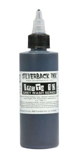 Insta 10 Grey Wash  Silverback Ink®